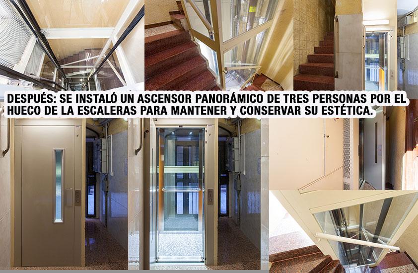 Instalaci n de ascensor en carrer d 39 en tarr s 2 barcelona - Precio instalacion ascensor ...