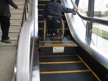 Accesibilidad archivos ascensores balaguer for Escalera discapacitados