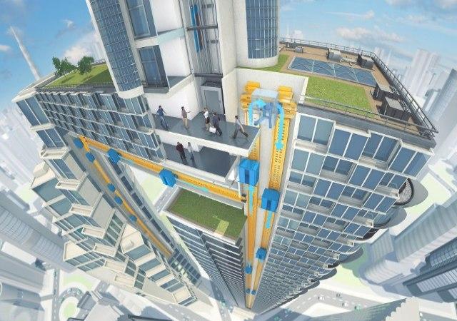Así serán los ascensores del futuro
