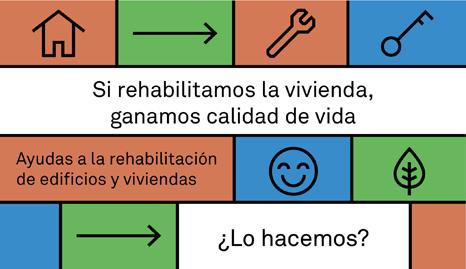 Ayudas a la rehabilitación de edificios 2018 en Barcelona