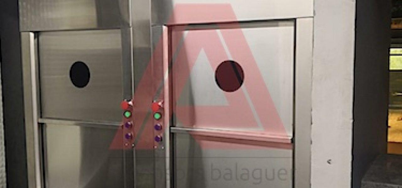 Instalación de Montaplatos en Hotel Faranda Cali Collection