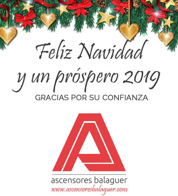 Feliz Navidad y un próspero 2019