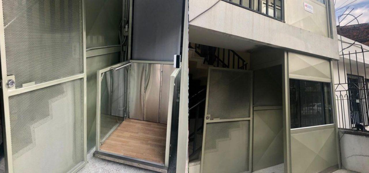 Instalación de Plataforma Hidráulica Media Cabina en Cali