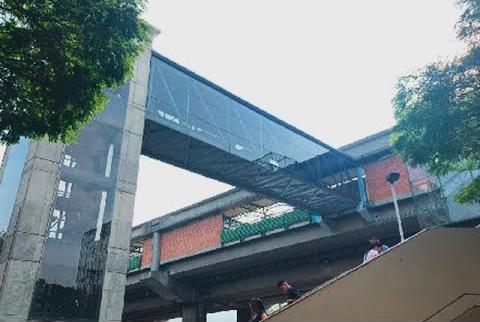 Nuevos ascensores en la estación Hospital del metro de Medellín