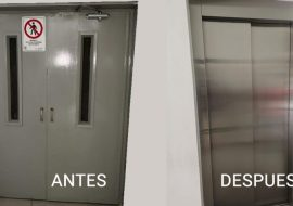 Instalación de Ascensor Gearless en Funeraria