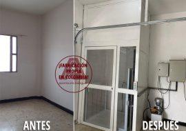 Instalación de Plataforma Hidráulica Media Cabina en la ciudad de Palmira